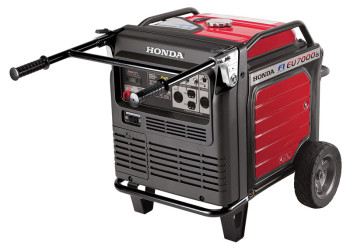 Honda EU7000iS gas powered generator