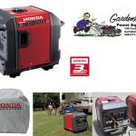 Honda EU3000i generator promotion