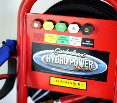 Gardenland HydroPower_PRS400 nozzle tips