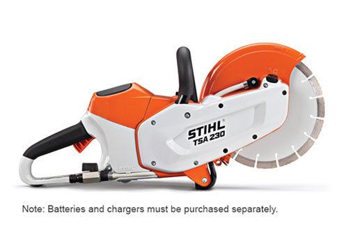 stihl tsa 230 battery powered cut off saw. Black Bedroom Furniture Sets. Home Design Ideas