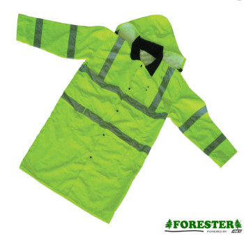 Forester Hi-Vis Extra Long Rain Slicker Jacket