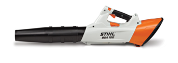 Stihl BGA 100 battery powered leaf blower