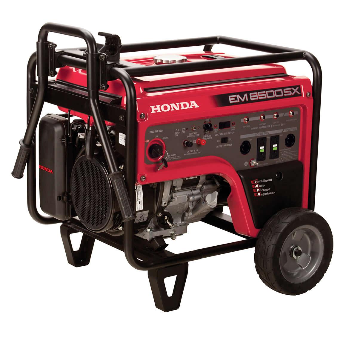 honda em6500 generator rh gardenland com Honda Generator Parts Honda EM 6500 SX