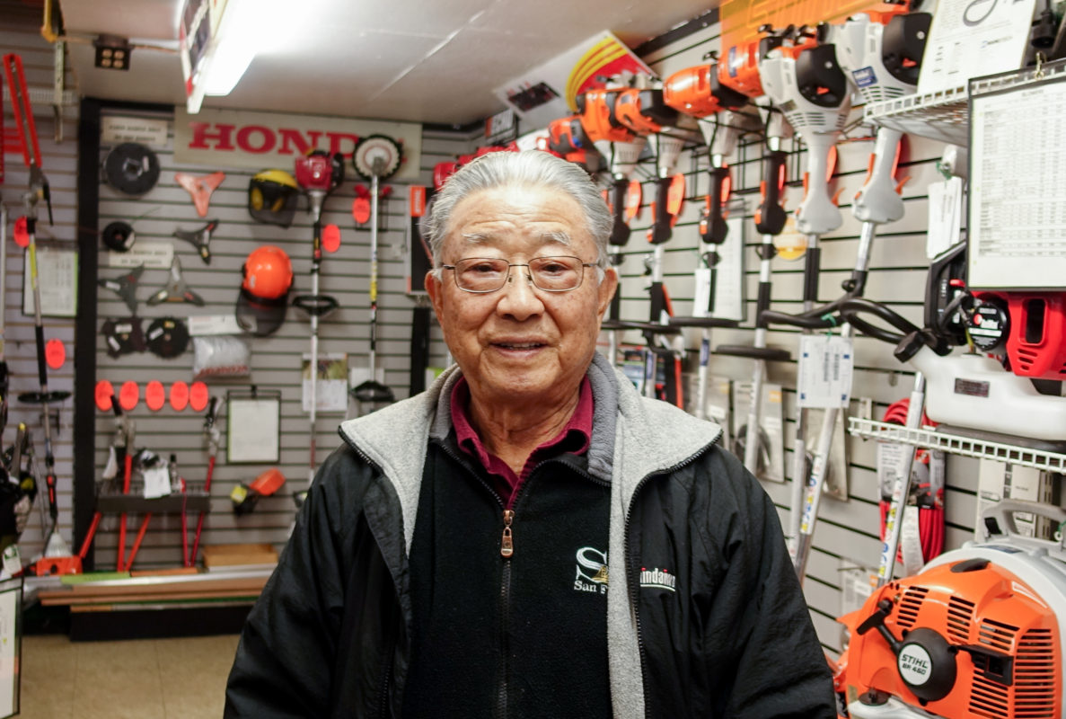 Ray Matsumoto, founder of Gardenland