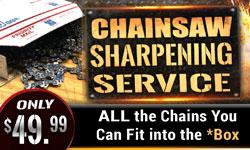 Bulk Chainsaw Sharpening Service