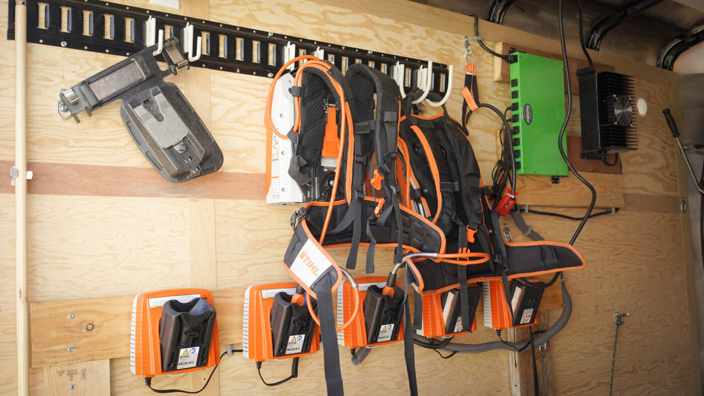 Enviro Views Battery-Powered Tools Mobile Charging Trailer